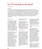 EU Fit: back from the dead?