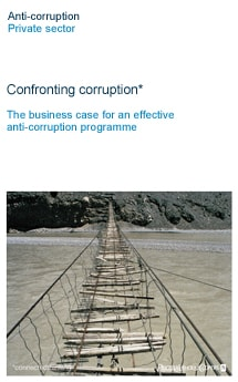 Confronting corruption*
