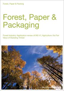 Forest Industry: Application Review of IAS 41, Agriculture: The Fair Value of Standing Timber