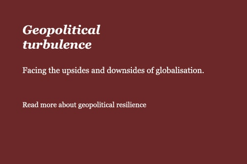 Geopolitical turbulence
