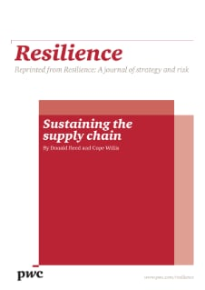 thesis on supply chain resilience Can you really build-in resilience to future proof your supply chain in dhl's latest white paper, lisa harrington, industry author and global supply chain trends specialist, shows you can.