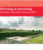 European Cities Hotel Forecast 2013:  Thriving or surviving