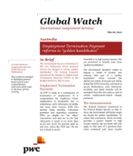 Global Watch: Australia - Employment Termination Payment reforms to