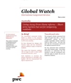 Global Watch: Australia - Living-Away-From-Home reforms: Short-term reprieve but not for temporary residents