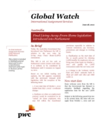 Global Watch: Australia - Final Living-Away-From-Home legislation introduced into Parliament