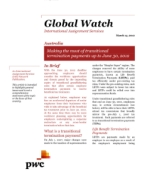 Global Watch: Australia - Making the most of transitional termination payments up to June 30, 2012