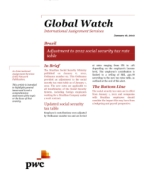 Global Watch: Brazil - Adjustment to 2012 social security tax rate table