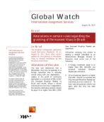 Global Watch: Brazil - Alterations in certain rules regarding the granting of Permanent Visas