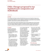 Insights from International Assignment Services: Changes proposed to tax legislation for companies and individuals