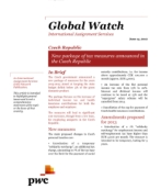 Global Watch: Czech Republic - New package of tax measures announced in the Czech Republic