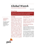 Global Watch: Hong Kong - Payments in lieu of notice are taxable from year of assessment 2012/13 onwards