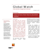 Global Watch: Germany - India/Germany Social Security Agreement Updates