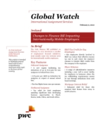 Global Watch: Ireland - Changes to Finance Bill Impacting Internationally Mobile Employees