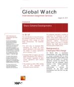 Global Watch: Ireland - Share Scheme Developments