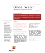 Global Watch: United States - Hurricane Prompts IRS to Extend Due Date for Offshore Voluntary Disclosure Initiative Requests