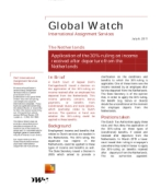 Global Watch: Netherlands - Application of the 30%-ruling on income received after departure from the Netherlands