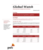 Global Watch: Turkey - 2012 Income tax legislation updates