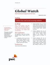 Global Watch: Turkey - Labour law and social security bulletin