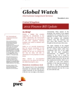 Global Watch: United Kingdom - 2012 Finance Bill Update
