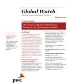 Global Watch: United States - IRS releases adjusted limitations for Section 911 foreign housing exclusion