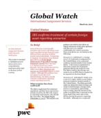 Global Watch: United States - IRS confirms treatment of certain foreign asset reporting scenarios