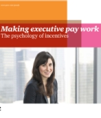 Making executive pay work: The psychology of incentives