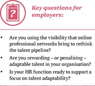 Questions for employers