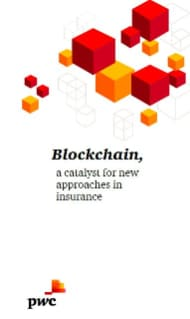 Blockchain, a catalyst for new approaches in insurance