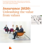 Insurance 2020: Unleashing the value from values