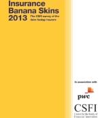Insurance banana skins 2013