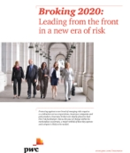 Broking 2020: leading from the front in a new era of risk