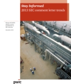SEC comment letter trends for the energy and mining industry