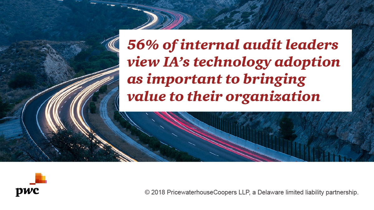 Investing in internal audit innovation is key to delivering