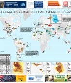 Global Prospective Shale Plays Map