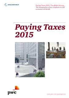 Paying taxes 2015