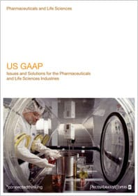 US GAAP - Issues and Solutions for the Pharmaceuticals and Life Sciences Industries