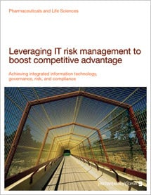 Leveraging IT risk management to boost competitive advantage