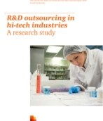 R&D outsourcing in hi-tech industries. A research study.