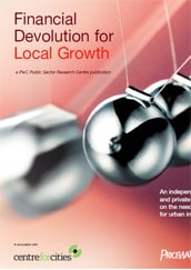 Financial devolution for local growth