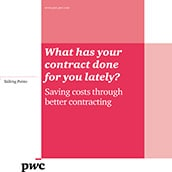 What has your contract done for you lately?