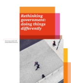 Rethinking government: doing things differently