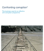 Confronting corruption: The business case for an effective anti-corruption programme