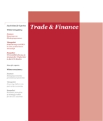 Trade & Finance Winter 2013/2014