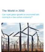 The world in 2050: Can rapid global growth be reconciled with moving to a low carbon economy?