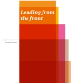 Leading from the front: Finance in the public sector – from aspiration to action