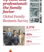 2014 Family Business Survey - Up close and professional: the family factor