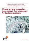 Measuring and managing total impact: A new language for business decisions