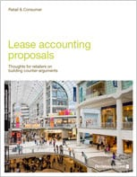 Lease accounting proposals – Thoughts for retailers on building counter-arguments