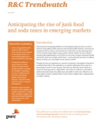 R&C Trendwatch: Anticipating the rise of junk food and soda taxes in emerging markets