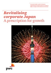 Revitalising corporate Japan. A prescription for growth